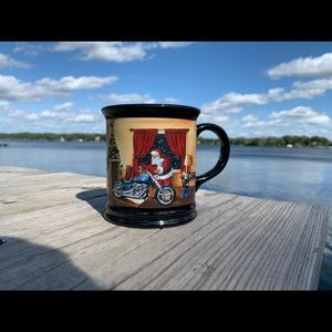 Christmas Collectible Harley Davidson Mug